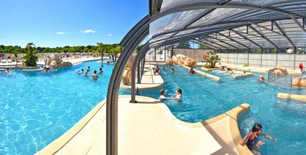 piscine couverte et chauffée en toute saison